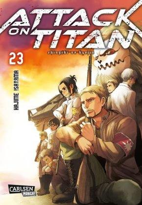 Attack on Titan - Bd.23