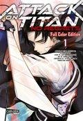 Attack On Titan - No Regrets Full Colour Edition - Bd.1