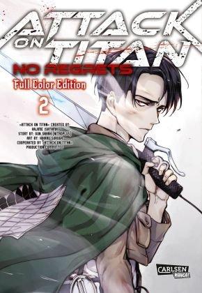 Attack On Titan - No Regrets Full Colour Edition - Bd.2
