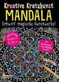 Kreative Kratzkunst - Mandala