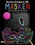 Kreative Kratzkunst XXL: Masken