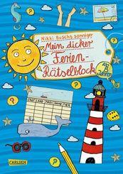 Mein dicker Ferien-Rätselblock - Bd.6