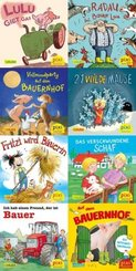 Pixi Bücher: Pixis Abenteuer auf dem Bauernhof (8x1 Exemplar), 8 Teile.