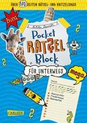 Pocket-Rätsel-Block: Rätsel für unterwegs