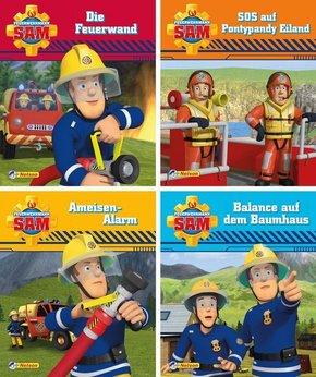 Feuerwehrmann Sam, 4 Hefte - Nr.9-12