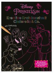 Disney Prinzessin: Kreative Kratzkunst mit Cinderella & Co., m. Kratzstift