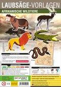 Laubsäge-Vorlagen Afrikanische Wildtiere