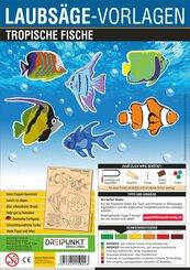 Laubsäge-Vorlagen Tropische Fische