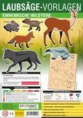 Laubsäge-Vorlagen Einheimische Wildtiere