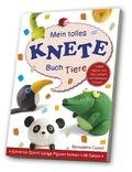 Mein tolles Knete-Buch Tiere (Buch + Knete-Set)