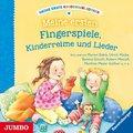 Meine erste Kinderbibliothek - Meine ersten Fingerspiele, Kinderreime und Lieder, 1 Audio-CD