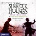 Young Sherlock Holmes - Tödliche Geheimnisse & Daheim lauert der Tod, 6 Audio-CDs