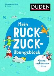 Mein Ruckzuck-Übungsblock Grundrechenarten 2. Klasse