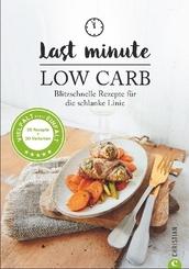 Last Minute Low Carb