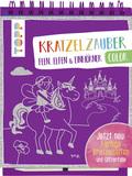 Kratzelzauber Color Feen, Elfen & Einhörner, m. Holzstift