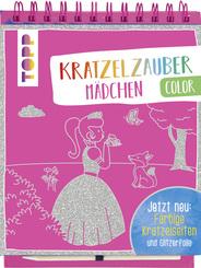 Kratzelzauber Color Mädchen, m. Holzstift