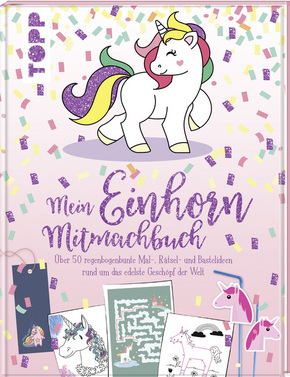 Mein Einhorn-Mitmachbuch