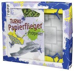 Kreativ-Set Turbo-Papierflieger mit Propeller