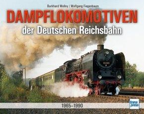 Dampflokomotiven der Deutschen Reichsbahn 1965-1990