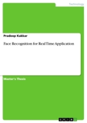 Face Recognition for Real Time Application