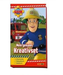 Feuerwehrmann Sam: Mein geniales Kreativset (Malblock, Rätselblock + 12 Buntstifte)