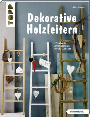 Dekorative Holzleitern