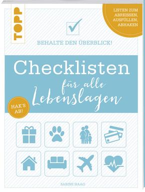 Checklisten für alle Lebenslagen