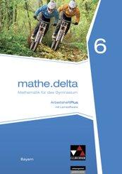 mathe.delta, Ausgabe Bayern: 6. Jahrgangsstufe, Arbeitsheft PLUS, m. CD-ROM