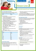 Green Line, Bundesausgabe ab 2014: 6. Klasse, Auf einen Blick; Bd.2