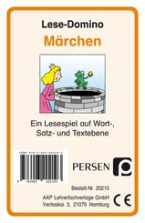 Lese-Domino: Märchen, Kartenspiel