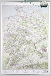 Landschaftskarte Deutschland 1 : 750 000, Planokarte
