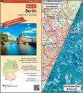 Topographische Karte und Satellitenbildkarte Berlin