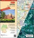 Topographische Karte und Satellitenbildkarte Görlitz