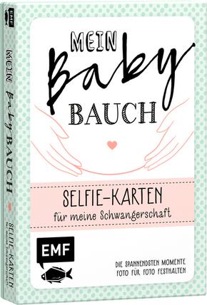 Mein Babybauch - Selfie-Karten für meine Schwangerschaft - Die spannendsten Momente Foto für Foto festhalten
