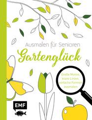 Ausmalen für Senioren - Gartenglück