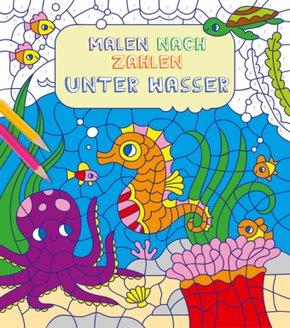 Malen nach Zahlen: Unter Wasser