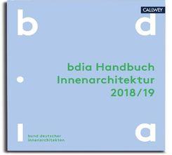 BDIA Handbuch Innenarchitektur 2018/19