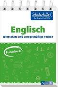 Pocketblock Englisch - Wortschatz und unregelmäßige Verben