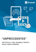 """Unpresidented"" - Twitter as a Tool in Donald Trump's Social Media Campaign"