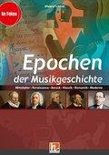 Epochen der Musikgeschichte, Heft, Audio-CD u. DVD-ROM