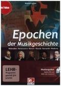 Epochen der Musikgeschichte, Audio-CD u. DVD-ROM
