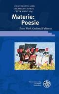 Materie: Poesie