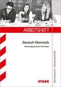 Arbeitsheft Gymnasium Nordrhein-Westfalen - Deutsch 10. Klasse