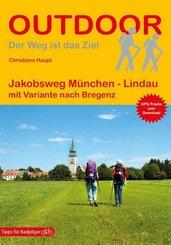 Jakobsweg München - Lindau mit Variante nach Bregenz