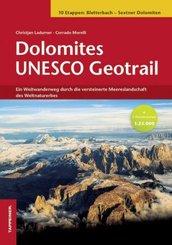 Dolomites UNESCO Geotrail, m. 2 Karte