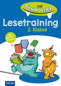 Die Buchmonster: Lesetraining 2. Klasse