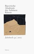 Bayerische Akademie der Schönen Künste, Jahrbuch - Bd.31