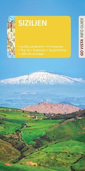 Go Vista Info Guide Reiseführer Sizilien, m. 1 Karte