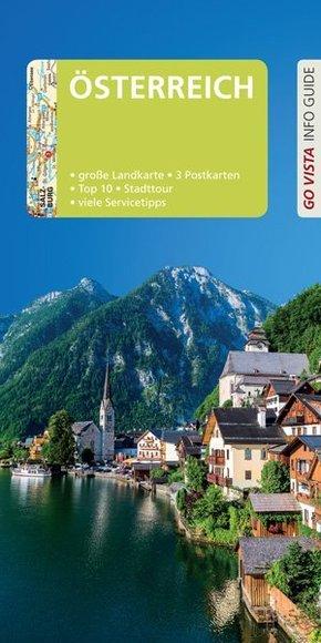Go Vista City Guide Reiseführer Österreich, m. 1 Karte