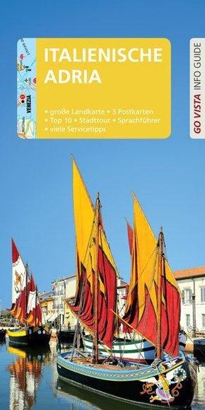 Go Vista Info Guide Reiseführer Italienische Adria, m. 1 Karte